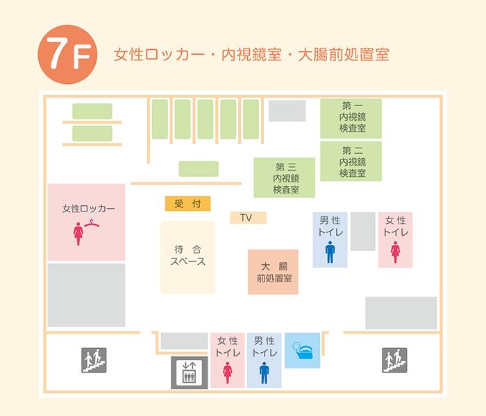 7F フロアマップ
